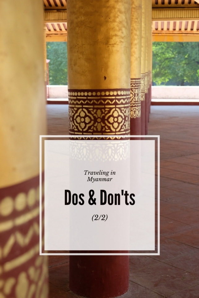 The dos and don'ts of traveling in Burma(2_2)